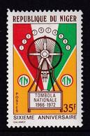 Niger 1972, Tombola, Minr 343 MNH - Niger (1960-...)