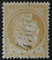 59 (cote 8 €) Obl BUREAU SUPPLEMENTAIRE GC 4500 Divionne (1 Ain ) Ind 8 - 1849-1876: Periodo Clásico
