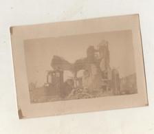 Photographie Originale.Guerre De 14/18. Belgique Eglise De  Nieuport Bains. Août 1918 - Guerra, Militares