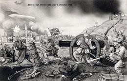 STURM AUT ANTWERPEN AM 9 OKTOBER 1914  AUTENTICA 100% - Manoeuvres