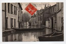 - CPA CORBEIL (91) - Inondations De La Seine 1910 - La Rue De La Pêcherie - Edition Beaugeard - - Sonstige Gemeinden