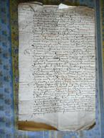 MANUSCRIT SUR PAPIER 4 PAGES Daté 1657 Noblesse A étudier - Manuscripts