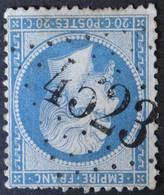 22 Obl BUREAU SUPPLEMENTAIRE GC 4523 Miramas (12 Bouches Du Rhone ) Ind 8 - 1849-1876: Periodo Clásico