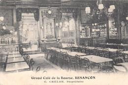 CPA - BESANÇON (DOUBS) - GRAND CAFÉ DE LA BOURSE - G. CHELON - Besancon
