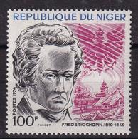 Niger 1974, Frederic Chopin, Minr 439 MNH - Niger (1960-...)