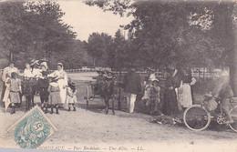 33 -- Bordeaux -- Parc Bordelais -- Une Allée -- Attelages/ânes - Bicyclette --- 3874 - Bordeaux