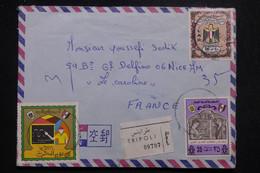 LIBYE - Enveloppe De Tripoli En Recommandé Pour La France En 1975 - L 97469 - Libya