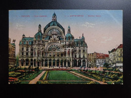 Antwerpen - Centraal Station - Middenstatie --> Beschreven 1922 - Antwerpen