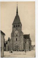 10  MUSSY Sur SEINE     L'église - Mussy-sur-Seine