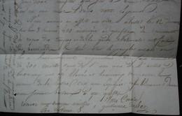 Paris 1839 Récit Des émeutes De L'insurrection Républicaine 12 Mai Barricade Et Répression Dans Lettre Pour Saint Flour - Historical Documents