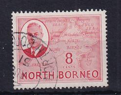 North Borneo: 1950/52   KGVI - Pictorial    SG361   8c    Used - Bornéo Du Nord (...-1963)