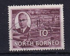 North Borneo: 1950/52   KGVI - Pictorial    SG362   10c    Used - Bornéo Du Nord (...-1963)