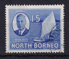 North Borneo: 1950/52   KGVI - Pictorial    SG363   15c    Used - Bornéo Du Nord (...-1963)