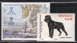 Monaco 2006 Yvert 2537/38 Neufs** MNH (AA53) - Unused Stamps