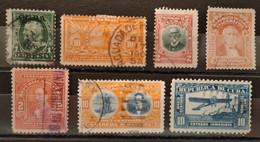 CUBA - 1899/1916 Lot De 7 Timbres Oblitérés (voir Scan) - Collezioni & Lotti