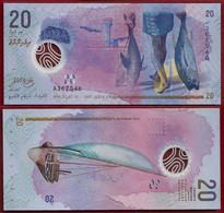 MALDIVES 20 RUFIYAA 2015 POLYMER Pick 27 UNC (NT#01) - Maldives