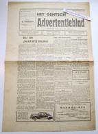 Het Gentsch Advertentieblad, 1e Jaargang No 7, 27 December 1946 Gent - Collections