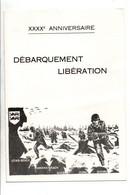 ENCART 40 ANS DE LA LIBERATION 1984 - Gedenkstempels