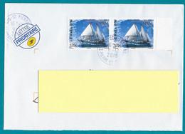 """St.Pierre Et Miquelon 2019 Paire  Oblitérée  YT 1219      """" LE RARA-AVIS """"  Cachet  St.Pierre 12-2019 - Covers & Documents"""