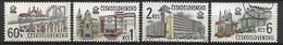TCHECOSLOVAQUIE   -  1978.   Y&T N° 2289 à 2292 Oblitérés.  Expo Philatélique.   Série Complète. - Usati