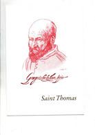 ENCART SAINT THOMAS PAR GEORGES DE LA TOUR 1993 - Gedenkstempels