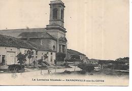 55 - HANNONVILLE SOUS LES COTES - (Rue De L'Eglise) - Otros Municipios