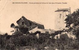 LES SABLES D'OLONNE  Ruines De L'abbaye De St Jean D'Olonne - Sables D'Olonne