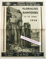 Societe Nationale Des Chemins De Fer Belges, Floralies Gantoises 1938 Gent - Collections