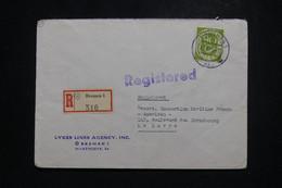 ALLEMAGNE - Enveloppe Commerciale En Recommandé De Bremen Pour La France En 1953 - L 97487 - Lettres & Documents