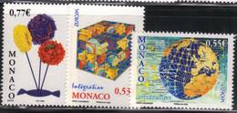 Monaco 2006 Yvert 2541 Et 2542/43 Neufs** MNH (AB33) - Unused Stamps