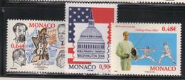 Monaco 2006 Yvert 2536 2545 2547 Neufs** MNH (AB33) - Unused Stamps