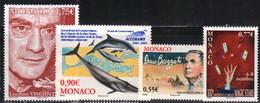 Monaco 2006 Yvert 2552 2553 2554 2555 Neufs** MNH (AB38) - Unused Stamps