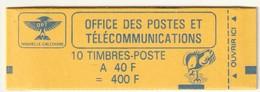 NOUVELLE CALEDONIE - CARNET N° C629 ** (1992) Le Cagou : 40f Rose Carminé - Carnets