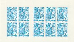 NOUVELLE CALEDONIE - CARNET N° C849 ** (2001) Le Cagou :100f Bleu Adhésif - Booklets