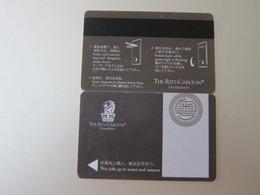 Ritz-Carlton Guangzhou, China, Corner With Tiny Damages - Hotel Keycards