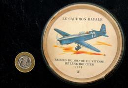 Ancienne Coupelle Sous-bock J-Magazine : RENAULT CAUDRON Rafale H. BOUCHER 1934 - Autres