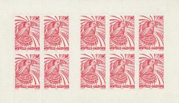 NOUVELLE CALEDONIE - CARNET N° C748 ** (1998) Le Cagou :(70f) Rouge Adhésif - Booklets