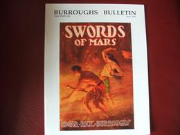 Tarzan John Carter Edgar Rice Burroughs Fanzine Burroughs Bulletin New Séries  N°56 Année 2003 - Autres