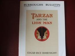 Tarzan John Carter Edgar Rice Burroughs Fanzine Burroughs Bulletin New Séries  N°55 Année 2003 - Autres