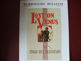 Tarzan John Carter Edgar Rice Burroughs Fanzine Burroughs Bulletin New Séries  N°54 Année 2003 - Autres