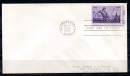 USA. N°583 Sur Enveloppe 1er Jour (FDC) De 1954. Semeur. - Agriculture