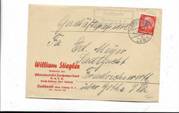 Brief Aus Leipzig 1936 - Covers & Documents