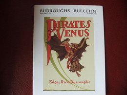 Tarzan John Carter Edgar Rice Burroughs Fanzine Burroughs Bulletin New Séries  N°51 Année 2002 - Autres