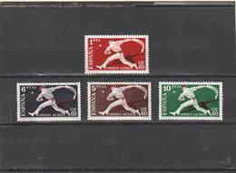 ///   ESPAGNE ///  Série - N° 282/285  **  Poste Aérienne ** Neufs Unused Côte 26€ - Unused Stamps