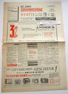 Het Gents Advertentieblad, 4e Jaargang No 1, 25 November 1949 Gent - Collections