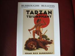 Tarzan John Carter Edgar Rice Burroughs Fanzine Burroughs Bulletin New Séries  N°49 Année 2002 - Autres