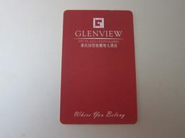 Glenview Hotel ITC Plaza ChongQing, China - Hotel Keycards