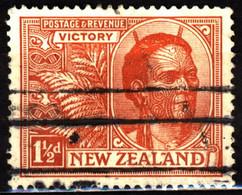 New Zealand 1920 Mi 157 Maori Chief - Used Stamps