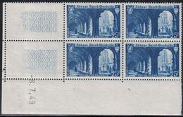 SAINT WANDRILLE - N°842 -   DE 4 COIN DATE - 8-7-1949 - COTE 3€. - 1940-1949