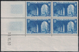 SAINT WANDRILLE - N°842 -   DE 4 COIN DATE - 10-10-1950 - COTE 3€. - 1940-1949
